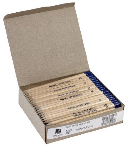 Rexel Büro-Bleistifte aus Naturholz HB 144 Stück