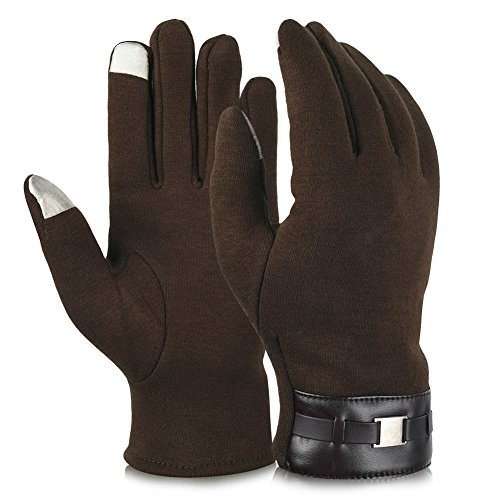 Vbiger Winter Gloves Texting Mittens Warm Cold Weather
