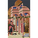 Oil painting 'Sassetta Saint Francis renounces his Earthly Father ' printing on Perfect effect canvas , 24 x 41 inch / 61 x 103 cm ,the best Kids Room gallery art and Home gallery art and Gifts is this High Definition Art Decorative Prints on Canvas