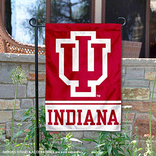 College Flags and Banners Co. IU Hoosiers Garden ()