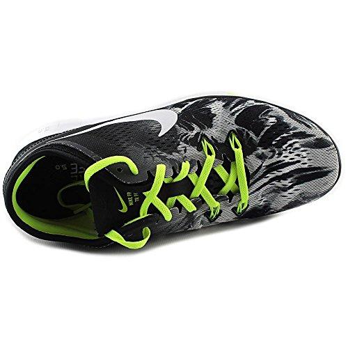 Nike Femmes Libres 5.0 Tr Ajustement 5 Prt Chaussures De Formation Femmes Nous Noir Blanc Volt 014