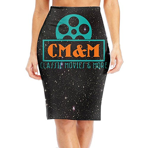 Classic Movies And More Women's Sexy Fashion High Waist Slim Skirt Office Pencil Dress