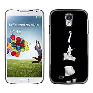 Dragon Case - FOR Samsung Galaxy S4 - Tell me you are mine - Caja protectora de pl??stico duro de la cubierta Dise?¡Ào Slim Fit