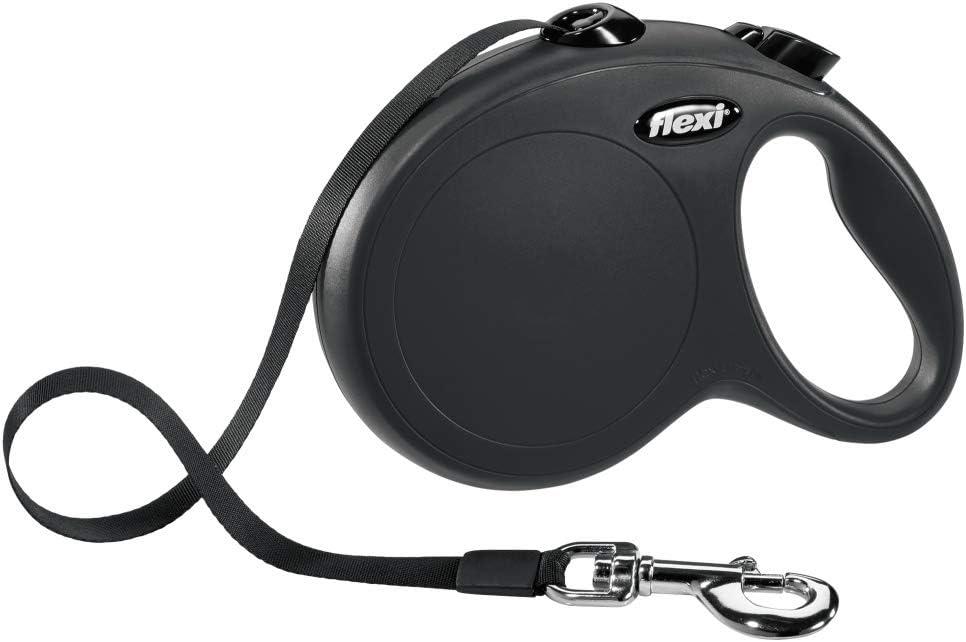 Flexi Classic L Cinta 8 m, Negro