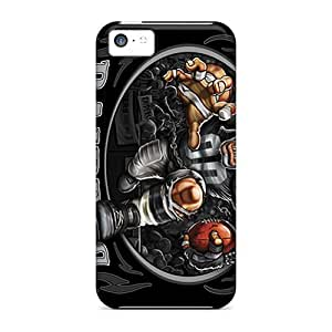 New Style Leeler Hard Case Cover For Iphone 5s for you- Oakland Raiders