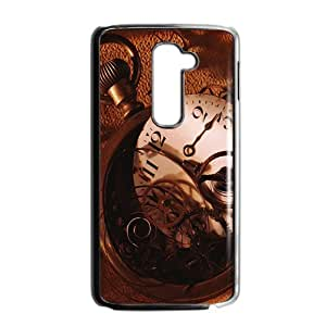 Artistic clock design fashion phone case for LG G2 wangjiang maoyi