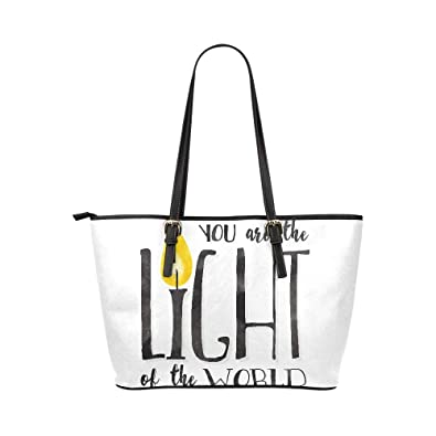 8f778a3430 Prited Inspiration Quote Letter Words Large Soft Leather Portable Top  Maniglia a mano Borse Borse Causali Borse a mano con cerniera Shopping bag  Borsa ...