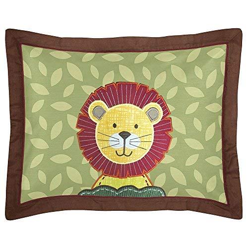 Sweet Jojo Designs Jungle Time Children /& Kids 3 Piece Full//Queen Boys Bedding Set
