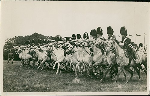 British Army Cavalry Regiments - Vintage photo of The Royal Scots Greys was a cavalry regiment of the British Army from 1707 until 1971.