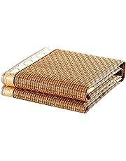 Bambusowy chłodny materac - składana mata rattanowa lodowa mata jedwabna - dostępna w sześciu rozmiarach Fajny materac (rozmiar: 135x200cm)