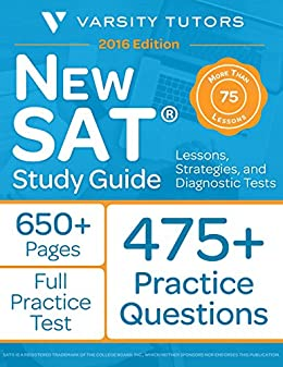 New SAT Prep Study Guide: Lessons, Strategies, and Diagnostic Tests by [Tutors, Varsity]