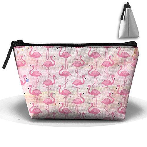 Pouch Flamingos Bag Trapezoid Travel U Build Organizer Clutch Storage 0Z5nSXxqU
