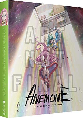 Anemone: Eureka Seven Hi-Evolution Blu-ray + DVD + Digital – BD Combo Pack