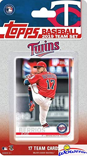 b6071217478 Minnesota Twins 2019 Topps Baseball EXCLUSIVE Special Limited Edition 17  Card Complete Team Set with Jose Berrios, Miguel Sano & Many More Stars &  Rookies!