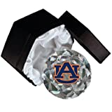 NCAA Auburn Tigers Logo 4-Inch High Brillance Diamond Cut Crystal Paperweight