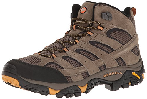 Merrell Men's Moab 2 Vent Mid Hiking Boot, Walnut, 10.5 M US