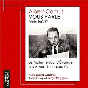 Albert Camus vous parle | Livre audio