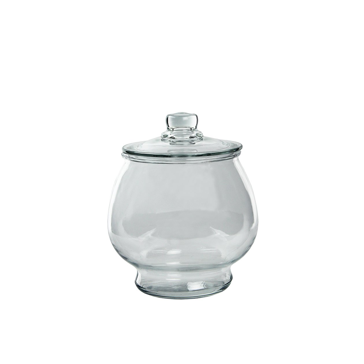 Syndicate Sales 1/2 Gallon Footed Terrarium w/Lid, Clear