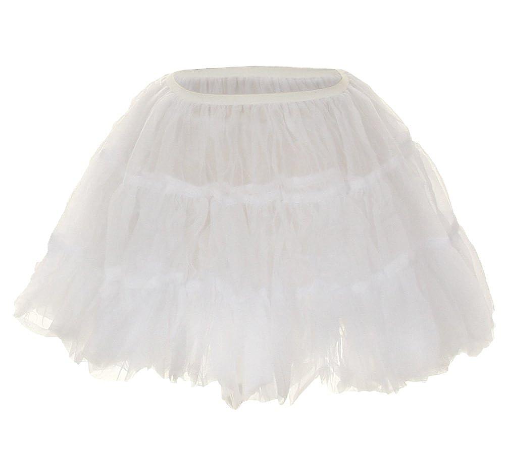 Kays BTQ Girls Half Slip Petticoat Soft Lining Crinoline Elastic Waist Size 1-10