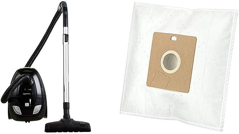 AmazonBasics - Aspiradora de suelo con bolsa, 1,5L, clasificación energética A, motor de alta eficiencia & Bolsas para aspiradora G51 con control de olor, para Miele - Pack de 4: Amazon.es: Hogar