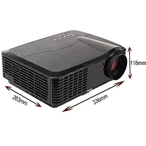 FR S86 A 4500 lúmenes HD Proyector 7000: 1 cine en casa 1080P HDMI ...
