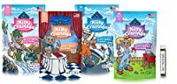 Blue Buffalo Kitty Cravings Crunchy Cat Treat Variety Pack, 4 Flavors (Salmon, Shrimp, Chicken, & Tuna) 2 Ounces Each (4 Total Pouches)