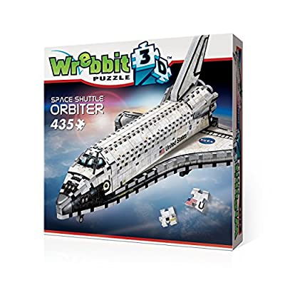 Wrebbit W3d 1008 Puzzle 3d Space Shuttle Orbiter 435 Pezzi