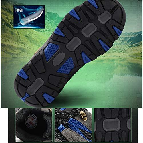 Lvptsh Chaussures de Randonnée pour Hommes Bottes de Randonnée Bottes de Trekking Antidérapantes Bottes d'escalade… 5