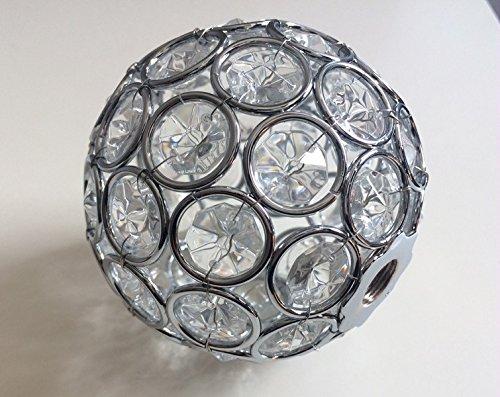 Vetro di ricambio, ricambio per sfera di cristallo sfera paralume di ...