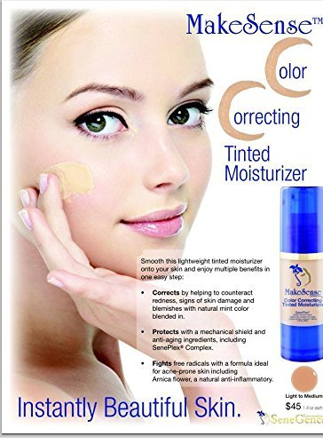 MakeSense Color Correcting Tinted Moisturizer (Medium)