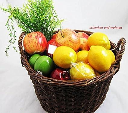 Goldbach Espuma rígida de Poliuretano Apple decoración, 8 x 8,5 cm, Rojo