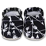 Clamfeet Organic Baby Shoes Organic Vegan Baby Shoes (0-6 Months, Eros)