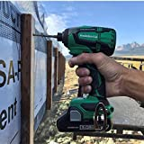 Metabo HPT WH18DBFL2T 18V Cordless Impact Driver