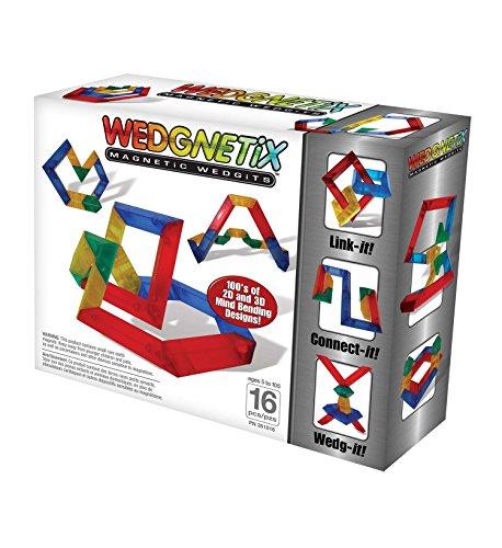 WEDGNETiX 16 Piece Magnetic Construction Kit ()