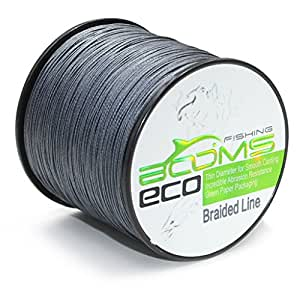 Booms fishing eco 100 uhmwpe braided fishing for Fishing line test