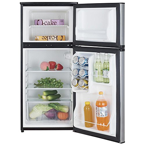 NEW Magic Chef 4.3 cu. ft. Mini Refrigerator - Stainless Ste