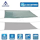 Alion Home HDPE 50% Sun Block Garden Netting Mesh (6'x9'10'', Green)
