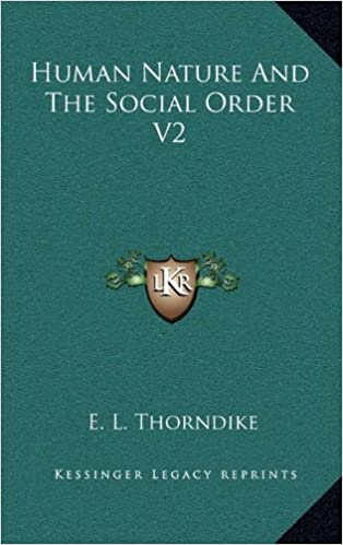 Book Human Nature and the Social Order V2