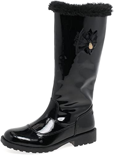 Lelli Kelly LK7658 Frances Long Black Patent Boot with FREE GIFT