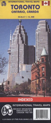 Toronto 1:12,500 Street Map (Travel Reference Map)
