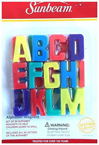 Sunbeam Alphabet Magnet by Magnets