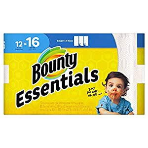 Ratings and reviews for Bounty Select-a-Size Paper Towels, White, 12 Huge Rolls