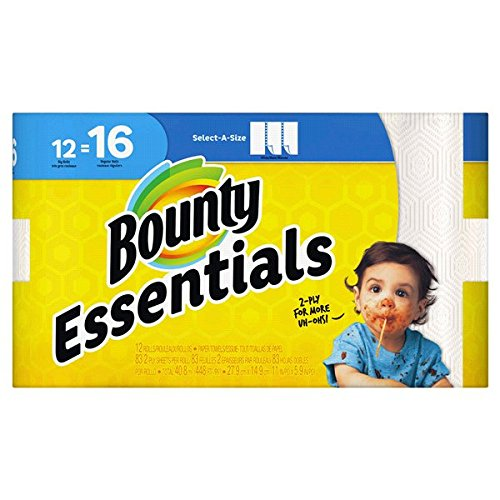 (Bounty Paper Towels, 12 Pack)