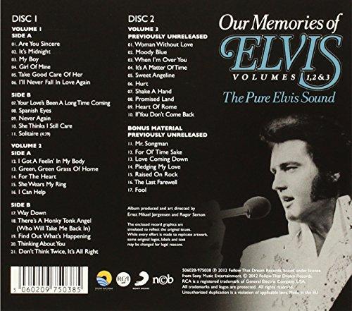 Elvis Presley - Elvis Presley Ftd 2 Cd Set Our Memories Of Elvis - Pure Elvis Vol 1, 2, 3 - Zortam Music