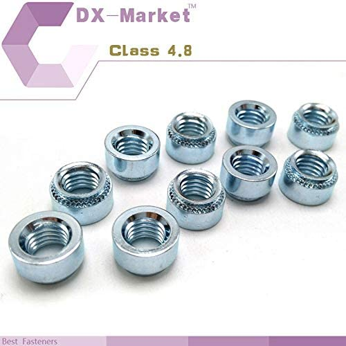 Nuts m2.5-1 Carbon Steel PEM Self-Clinching Nuts 100pcs m2.5 Zinc Plating nut