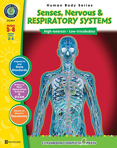 Senses, Nervous & Respiratory Systems Gr. 5-8 (Human Body) - Classroom Complete Press