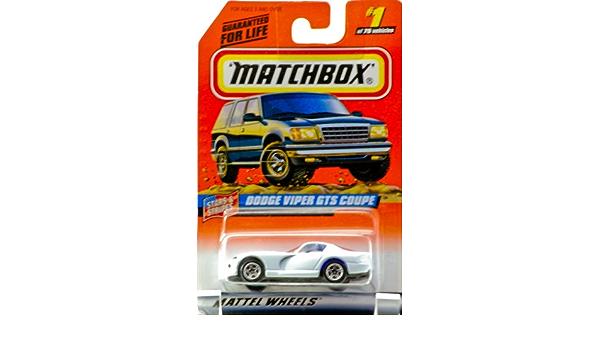 Dodge Viper Hershey MJ7 Matchbox PA 1997 Black Toy Show