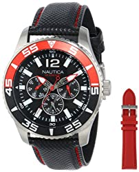 Nautica Women's N13664G NST 07 Multi-Strap Stainless Steel Watch
