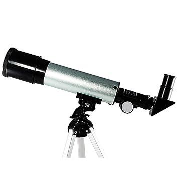 Relddd Telescopio Estudiante Profesional telescopio astronómico observación niños-Primer Solo-Cilindro Alta definición astronómica