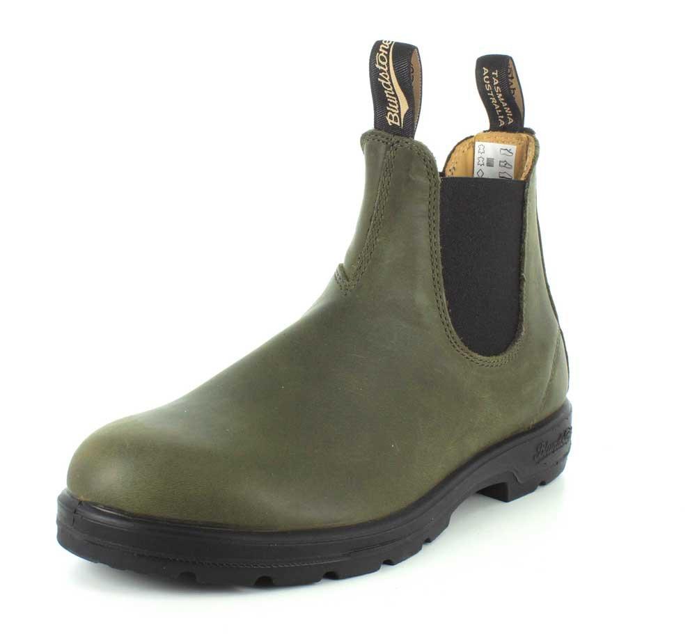 Blundstone Mens Super 550 Series 1490 Olive Boot - 3 UK
